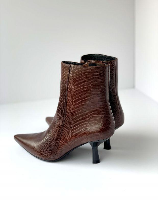 נעלי נשים - Jeffrey Campbell - מגפוני עקב EGNYTE - חום
