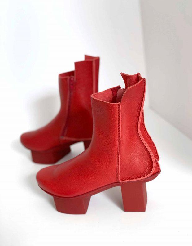 נעלי נשים - Trippen - מגפוני SOUL HAPPY - אדום