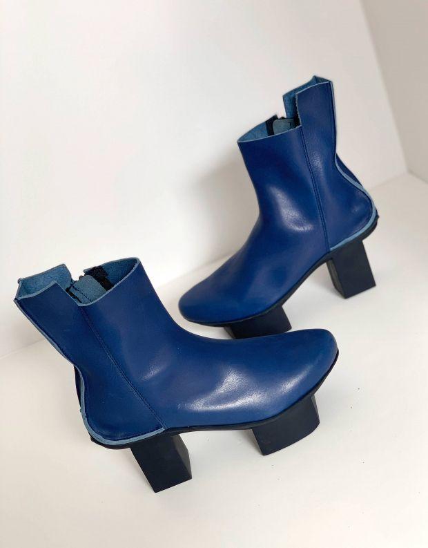 נעלי נשים - Trippen - מגפוני SOUL HAPPY - כחול