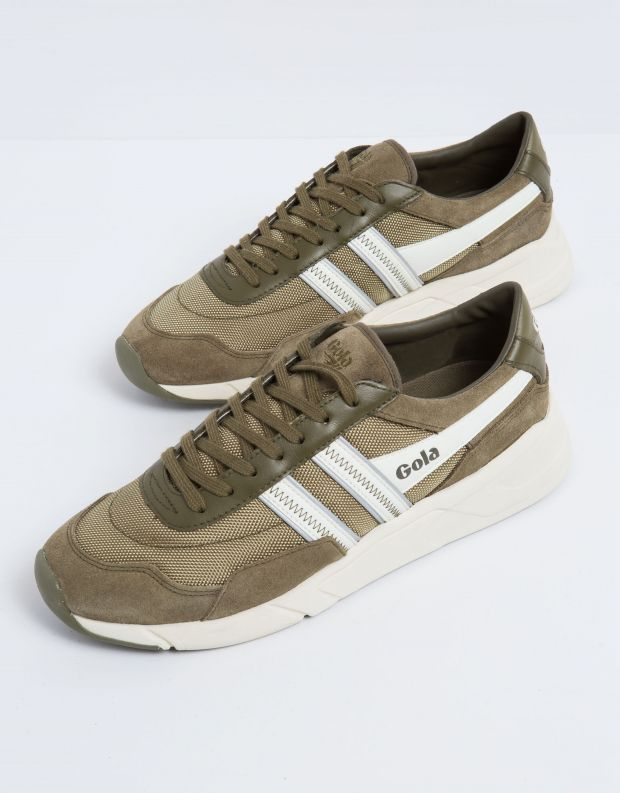 נעלי גברים - Gola - סניקרס ECLIPSE LEGACY - חאקי