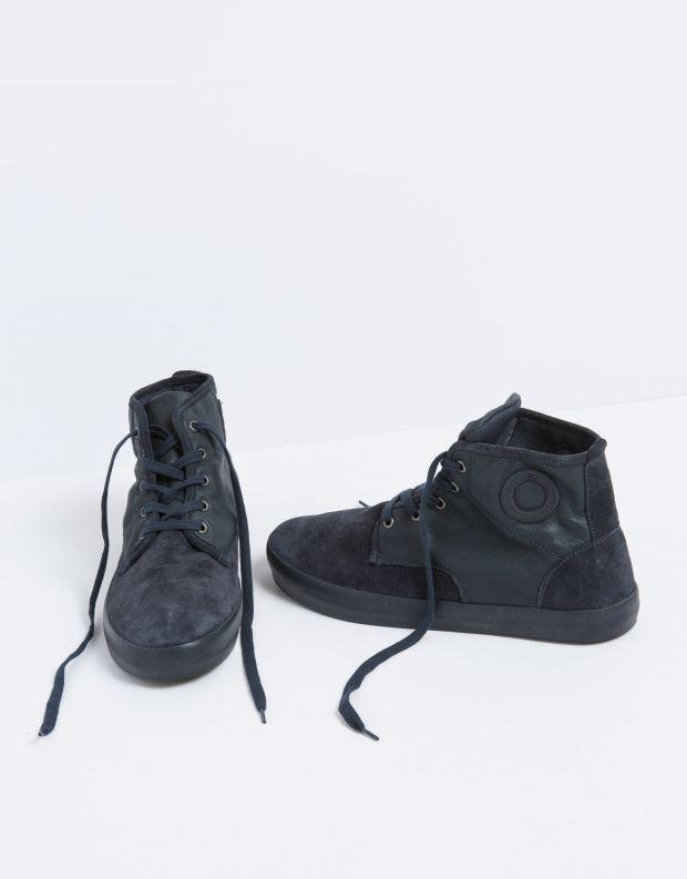 נעלי גברים - Aro - סניקרס גבוה NORMAN - כחול