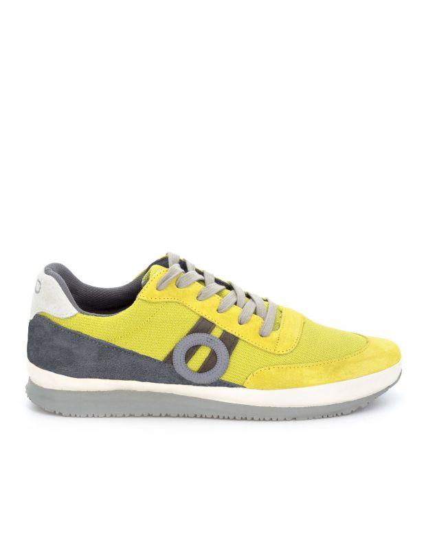 נעלי גברים - Aro - סניקרס JAQ - צהוב
