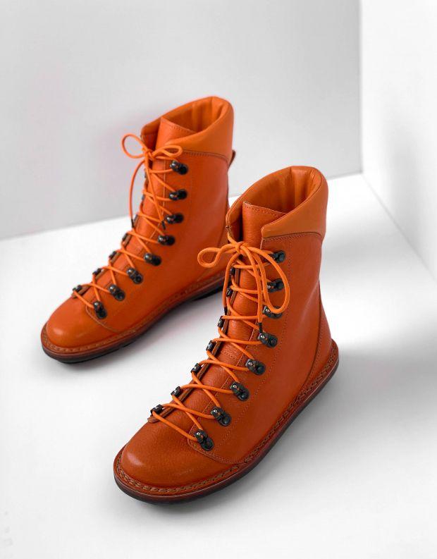 נעלי נשים - Trippen - מגפון FRANZ CLOSED - כתום