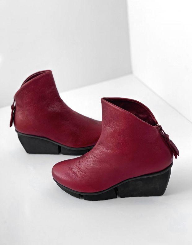 נעלי נשים - Trippen - מגפון SWIFT splitt - wine