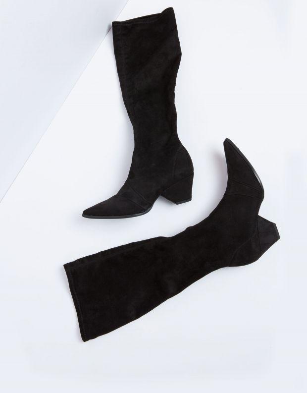 נעלי נשים - NR Rapisardi - מגף AVIOR - שחור
