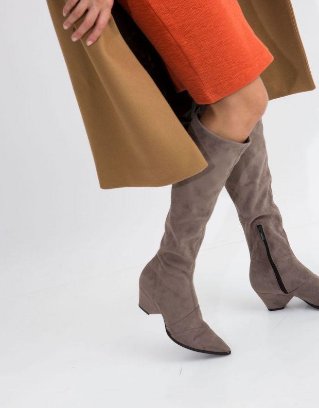 נעלי נשים - NR Rapisardi - מגף AVIOR - אבן
