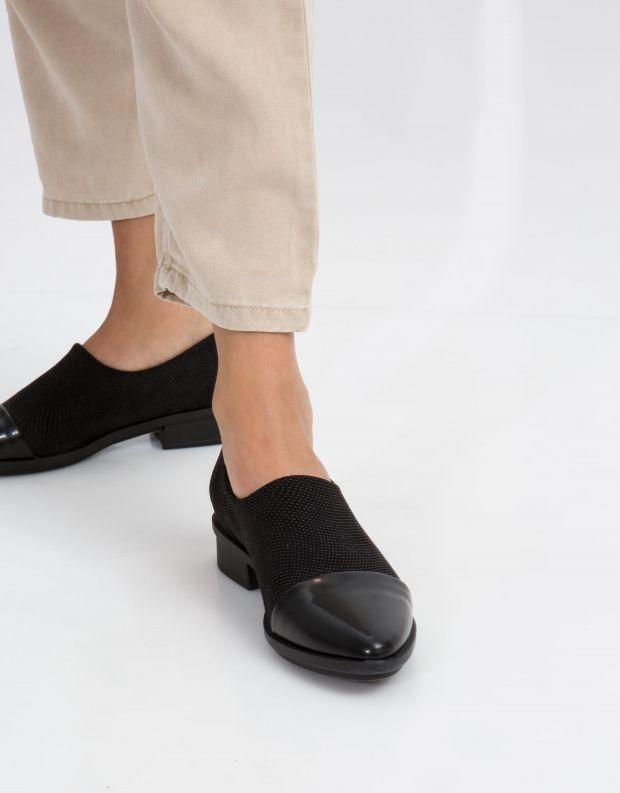 נעלי נשים - NR Rapisardi - נעל EMMA - שחור
