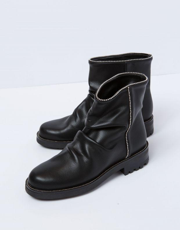 נעלי נשים - NR Rapisardi - מגפון IRIDE - שחור