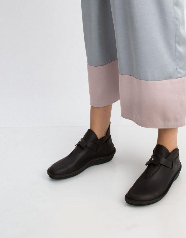 נעלי נשים - loints of Holland - מגפון CHARACTER רצועה - שחור