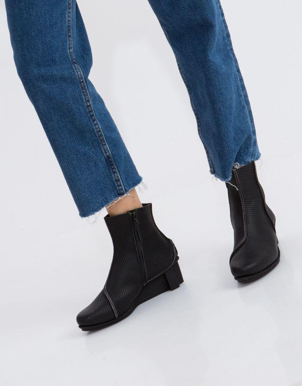 נעלי נשים - Trippen - מגפון MERE XOS - שחור