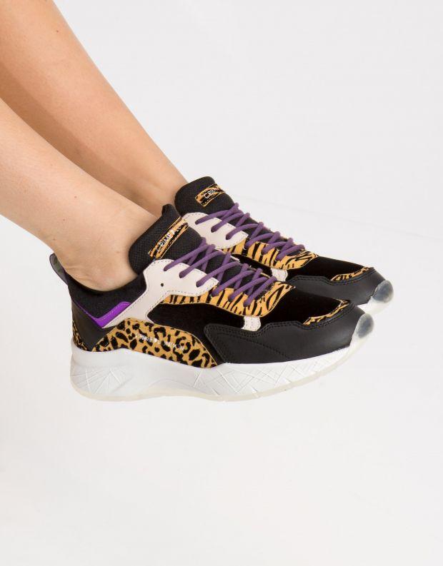 נעלי נשים - Crime London - סניקרס KOMRAD ANIMAL - נמר