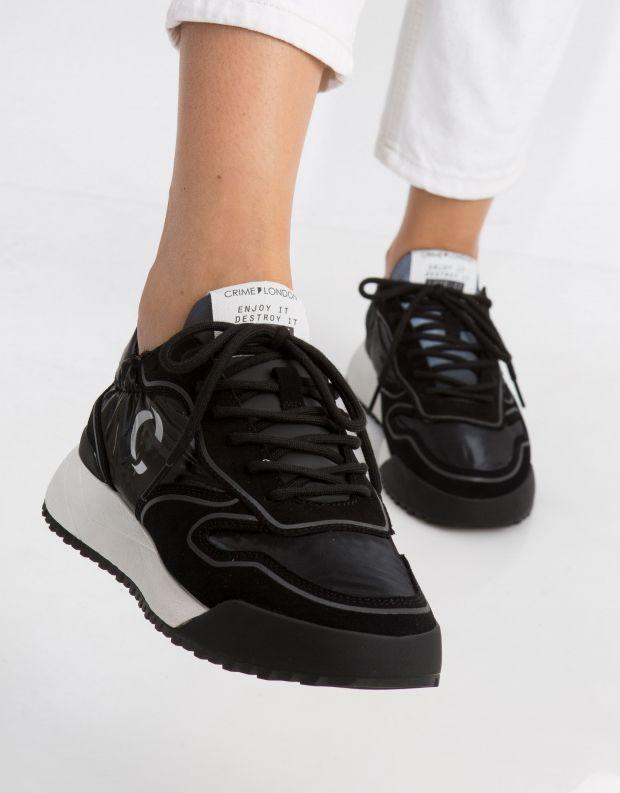 נעלי נשים - Crime London - סניקרס CONDOR - שחור