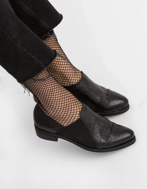 נעלי נשים - Yuko Imanishi - נעל TSUMUGU - שחור מבריק