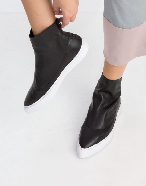 נעלי נשים - Yuko Imanishi - מגפון HINATA - שחור