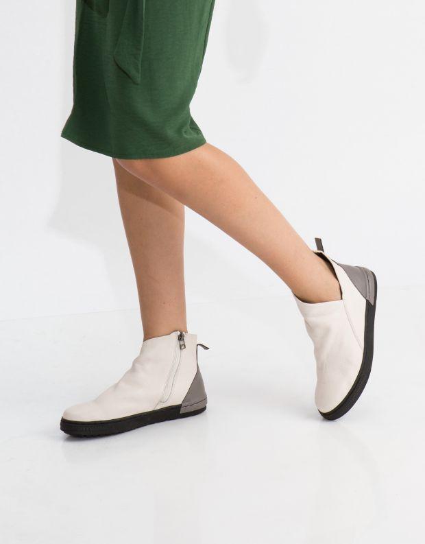 נעלי נשים - Yuko Imanishi - מגפון MITSUKI - לבן