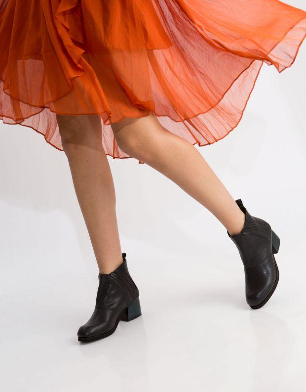 נעלי נשים - Yuko Imanishi - מגפון RIO - שחור