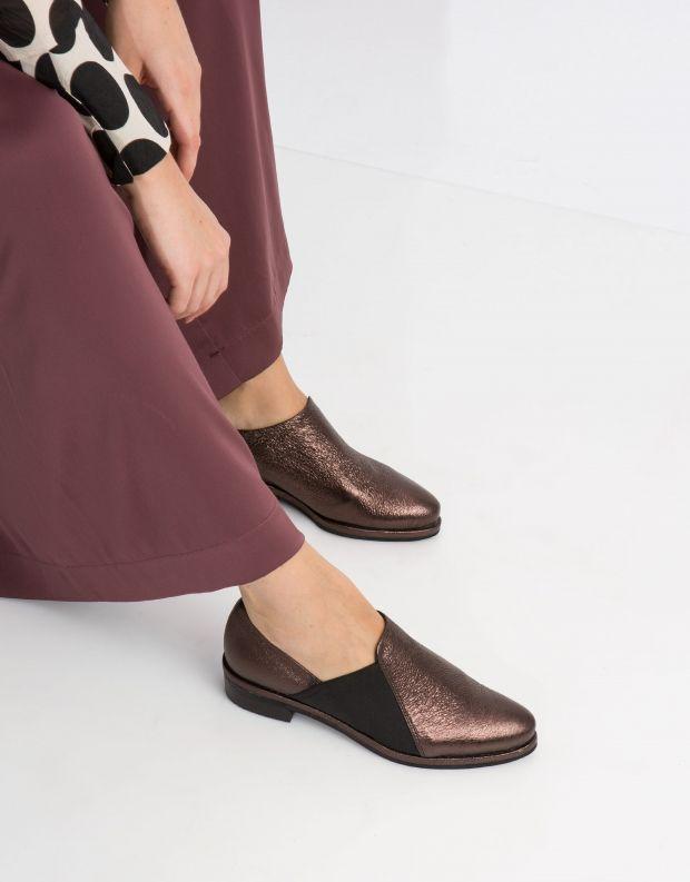 נעלי נשים - Yuko Imanishi - נעל TSUMUGU - ברונזה