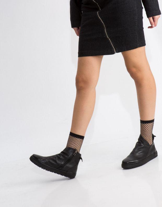 נעלי נשים - Yuko Imanishi - מגפון MITSUKI - שחור