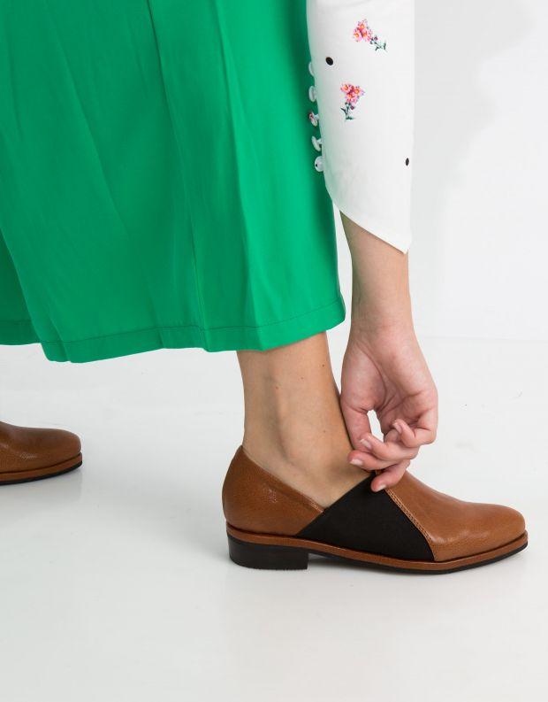נעלי נשים - Yuko Imanishi - נעל TSUMUGU - קאמל