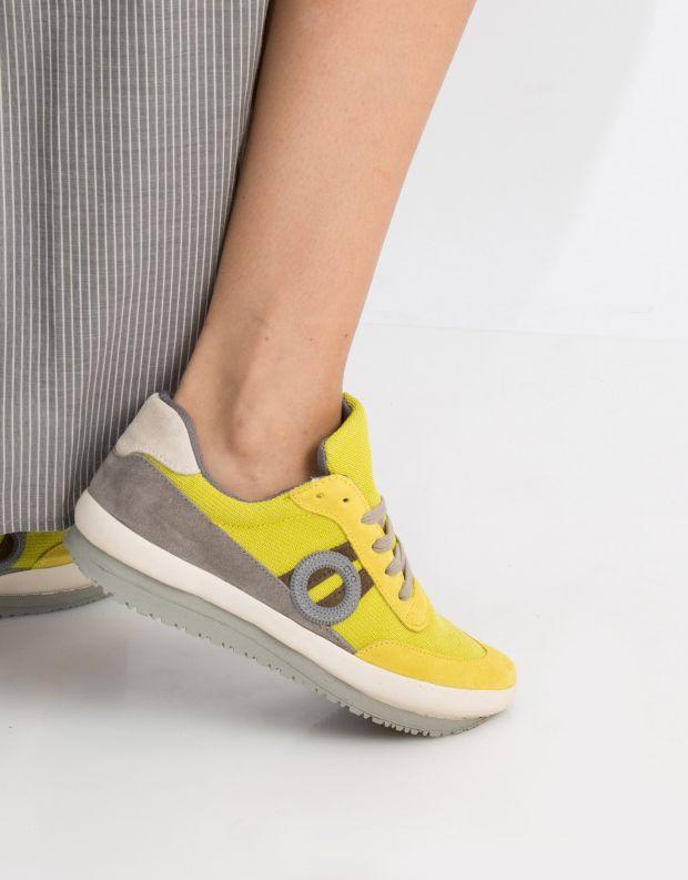 נעלי נשים - Aro - סניקרס JAQ - צהוב
