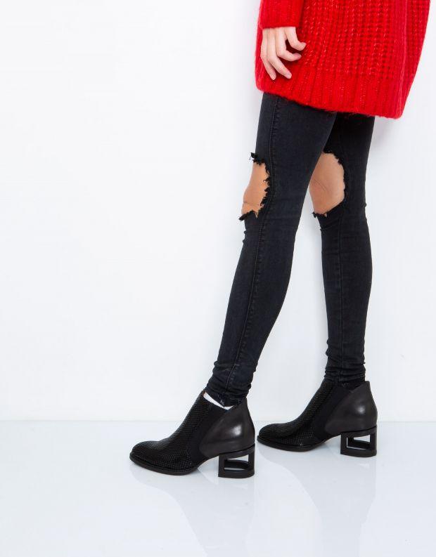 נעלי נשים - Jeffrey Campbell - מגפון DUVAL - שחור