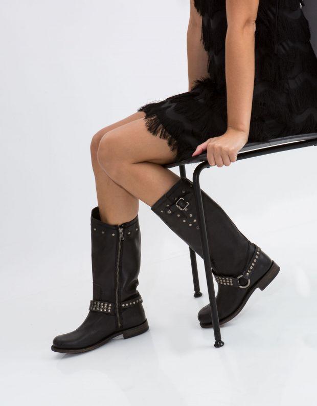 נעלי נשים - liberty black - מגף JADE - שחור