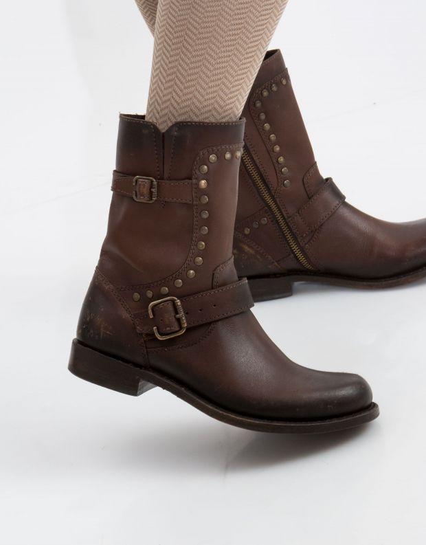 נעלי נשים - liberty black - מגף SADIE - חום כהה