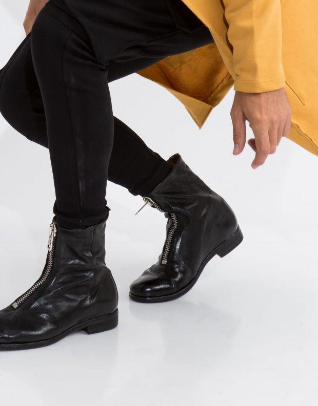 נעלי גברים - A.S. 98 - מגפון HIVES רוכסן קדמי - שחור