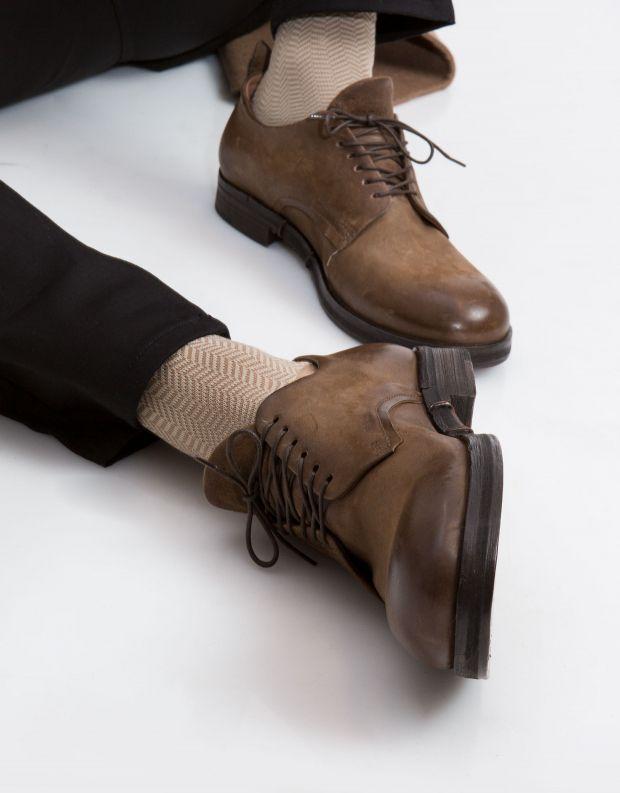 נעלי גברים - A.S. 98 - נעל ACTON - חום בהיר