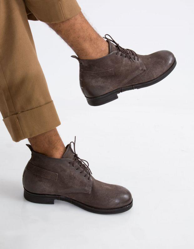 נעלי גברים - A.S. 98 - נעל גבוהה ACTON - אפור