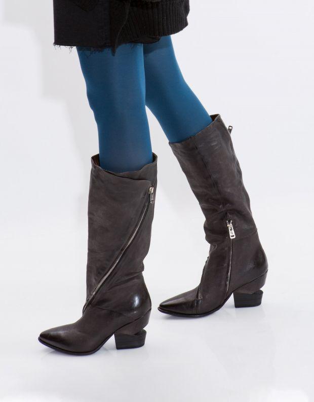 נעלי נשים - A.S. 98 - מגף TINGET רוכסן - אפור