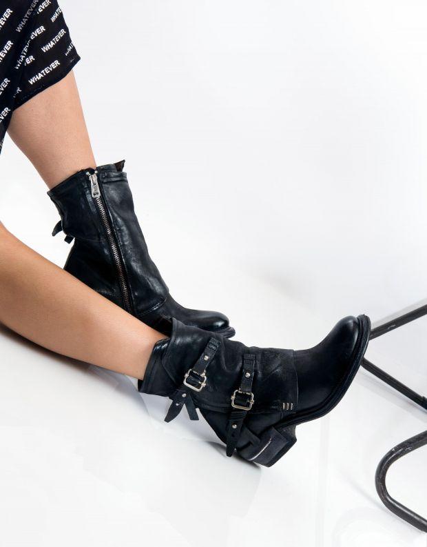 נעלי נשים - A.S. 98 - מגפון IGNIX מעטפת - שחור