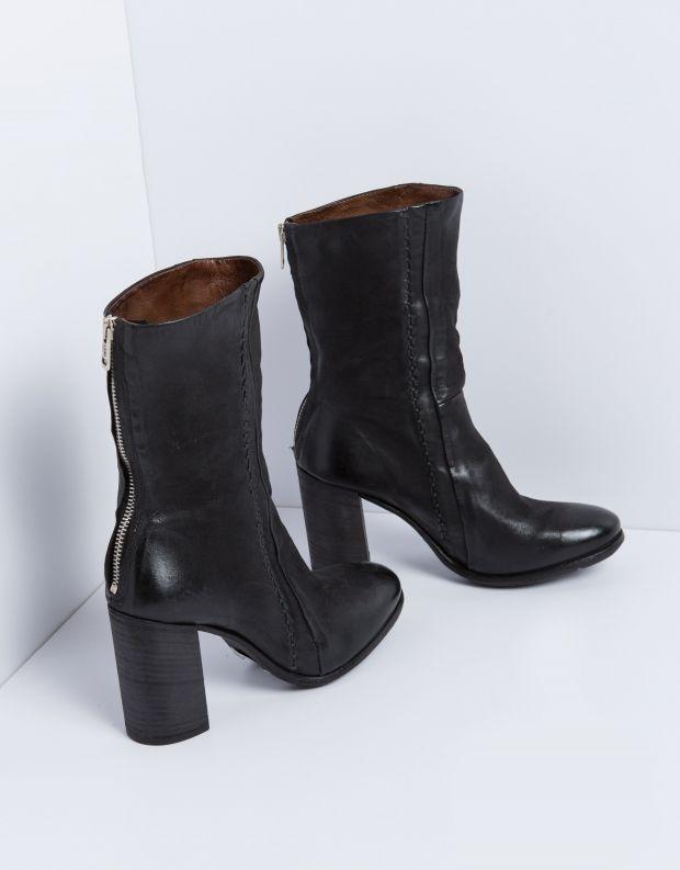 נעלי נשים - A.S. 98 - מגף FRESH תפרים - שחור