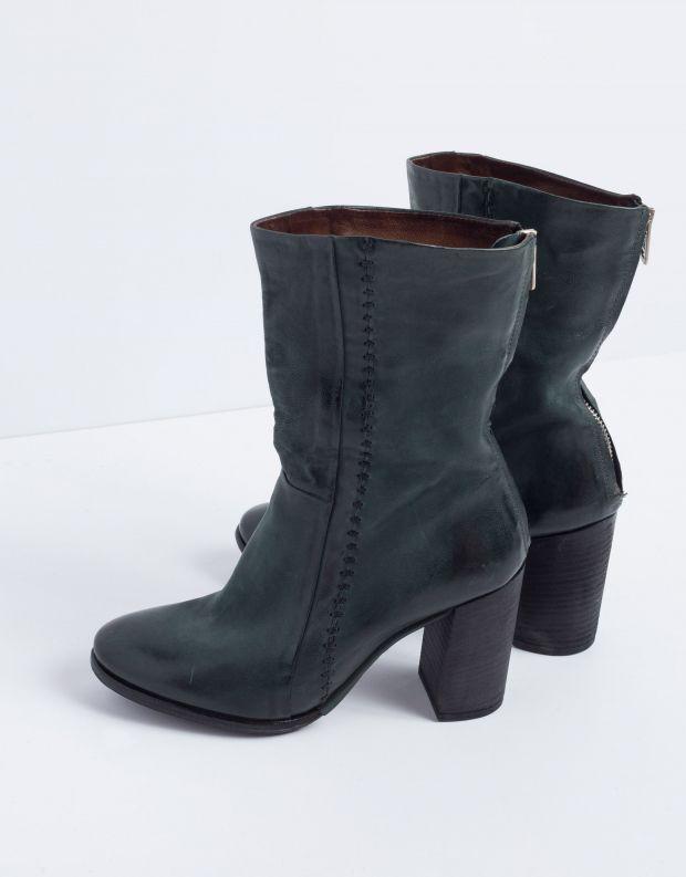 נעלי נשים - A.S. 98 - מגף FRESH תפרים - ירוק