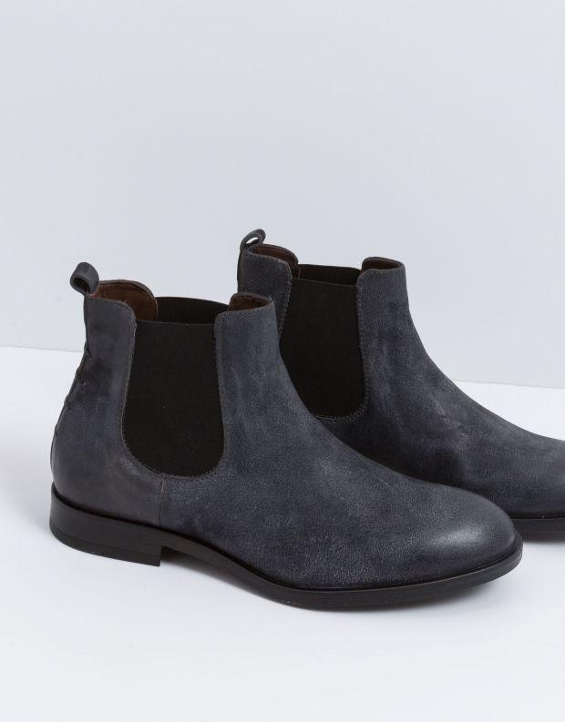 נעלי גברים - Mjus - מגפון BRADLEY - כחול