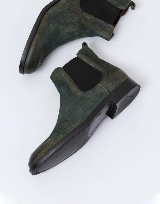 נעלי גברים - Mjus - מגפון BRADLEY - ירוק