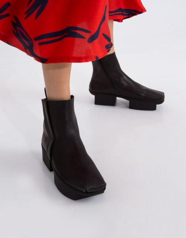 נעלי נשים - Trippen - מגפון FANNY BOX - שחור
