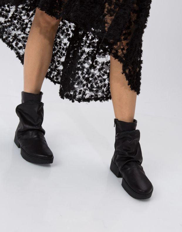 נעלי נשים - Trippen - מגפון CLUTCH SPORT - שחור