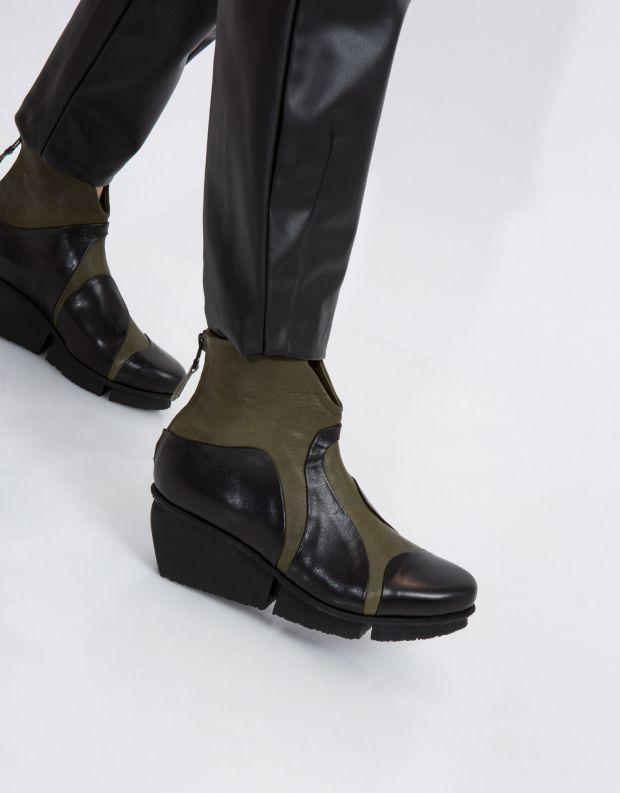 נעלי נשים - Trippen - מגפון MARBLE SPLITT - חאקי