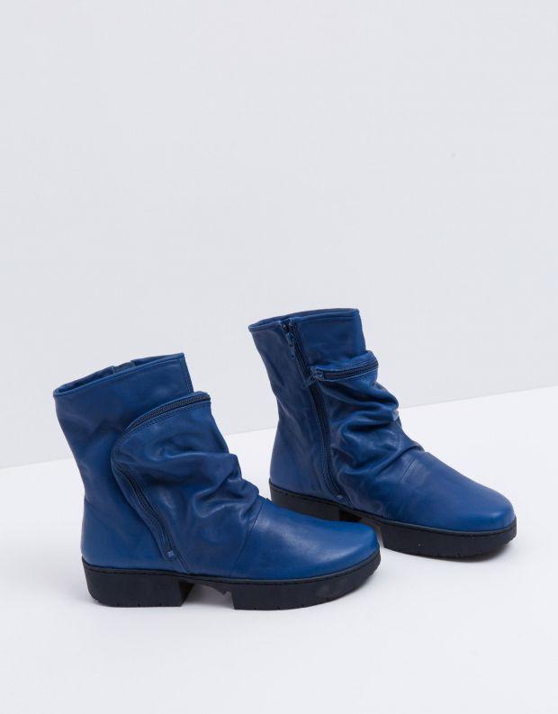נעלי נשים - Trippen - מגפון CLUTCH SPORT - כחול
