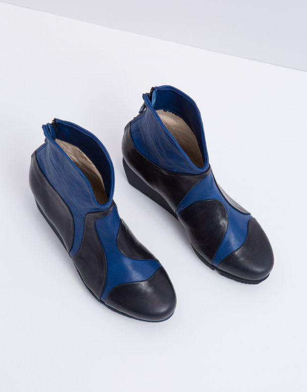נעלי נשים - Trippen - מגפון MARBLE SPLITT - כחול