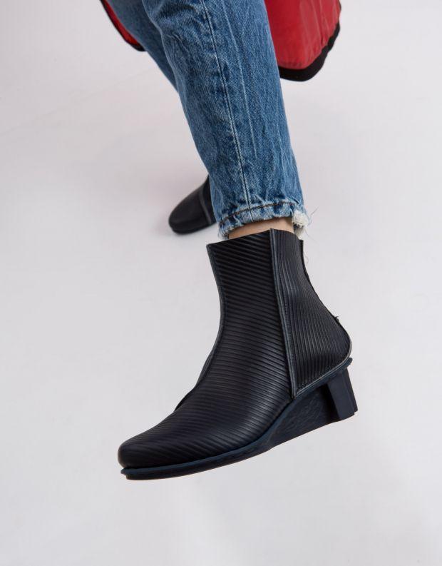 נעלי נשים - Trippen - מגפון MERE XOS - כחול