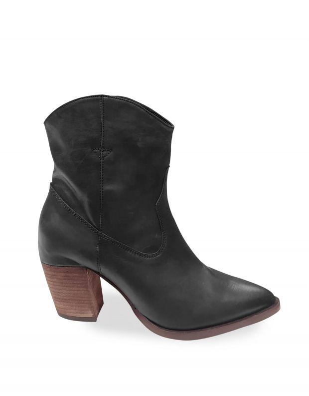 נעלי נשים - Vialis - מגפון GIPSY - שחור
