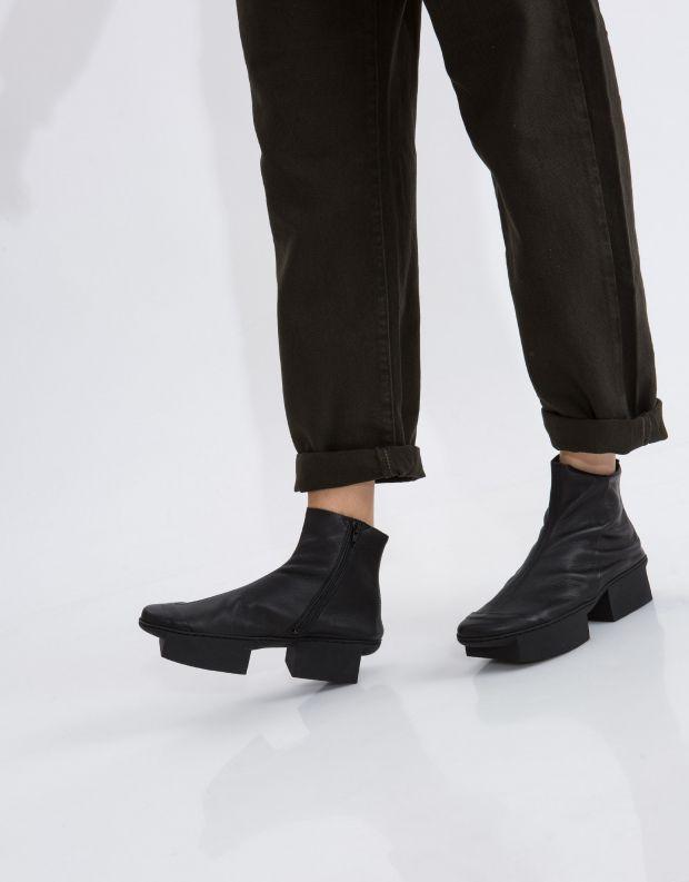 נעלי נשים - Trippen - מגפון NOON BOX - שחור