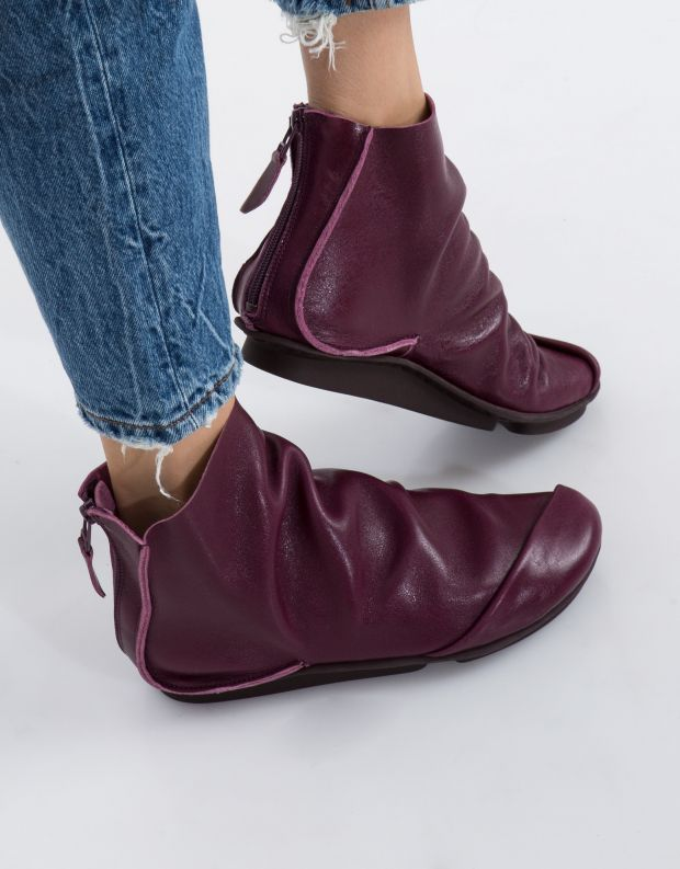 נעלי נשים - Trippen - מגפון PLOY PENNA - סגול