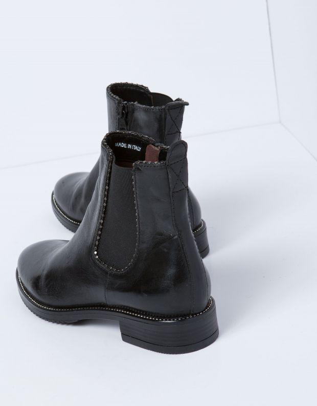 נעלי נשים - Mjus - מגפון ZARKO גומיות - שחור
