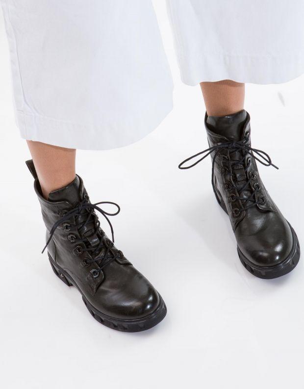 נעלי נשים - Mjus - מגפון ORSA - ירוק