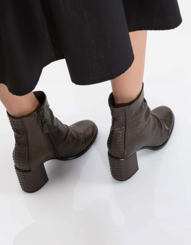נעלי נשים - Mjus - מגפון TWISTER כיווצים ניט - ברונזה