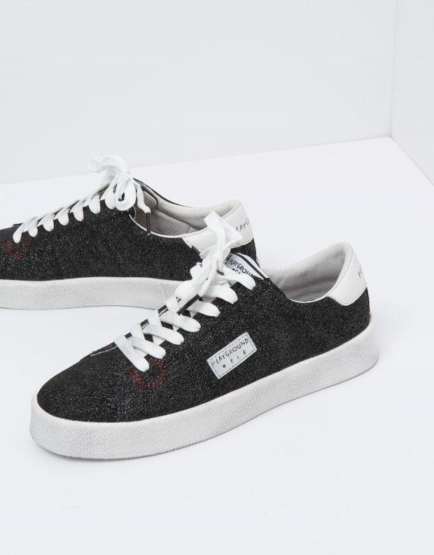 נעלי נשים - PlayGround - סניקרס PLAYFLIPS - שחור