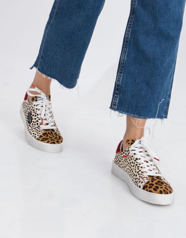 נעלי נשים - PlayGround - סניקרס PLAYFLIPS - נמר